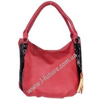 Женская сумка Арт. F-68631  Цвет Красный