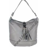 Женская сумка Арт. F-68583  Цвет Серый