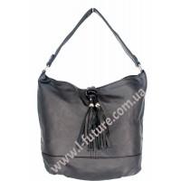 Женская сумка Арт. F-68583  Цвет Чёрный