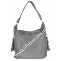 Женская сумка Арт. F-7317  Цвет Серый