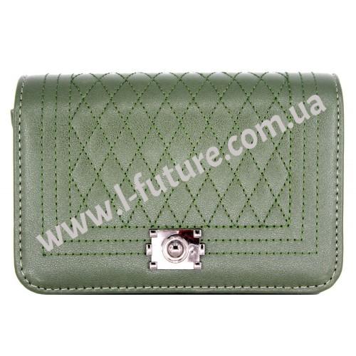 Женский Клатч Арт.8809-1 Цвет Зелёный