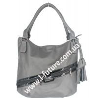 Женская сумка Арт. F-68411 Цвет Серый