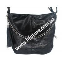 Женская сумка Лазерка Арт. 838-1-2 Цвет Чёрный