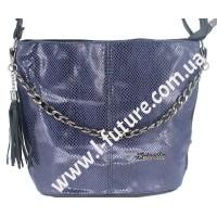 Женская сумка Лазерка Арт. 838-1 Цвет Синий