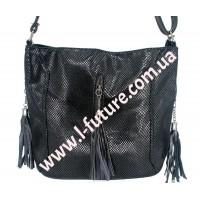 Женская сумка Лазерка Арт. 906 Цвет Чёрный