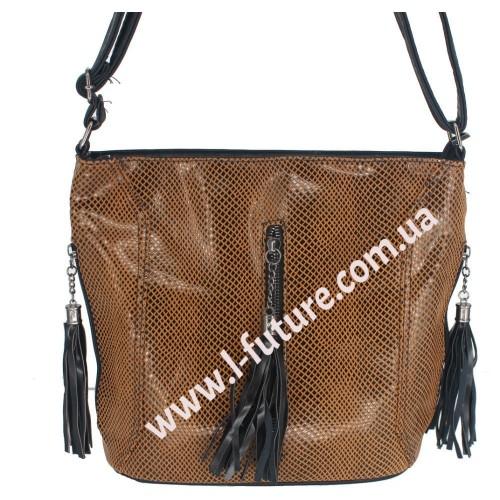 Женская сумка Лазерка Арт. 906 Цвет Хаки