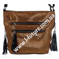 Женская сумка Лазерка Арт. 907 Цвет Хаки