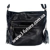 Женская сумка Лазерка Арт. 907 Цвет Чёрный