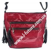 Женская сумка Лазерка Арт. 907 Цвет Красный