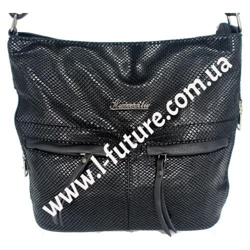Женская сумка Лазерка Арт. 905 Цвет Чёрный