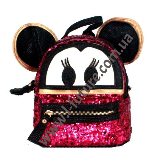 Женская сумка-рюкзак Арт. 2018  Цвет Розовый