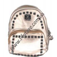 Женский рюкзак Арт. 328  Цвет Золото
