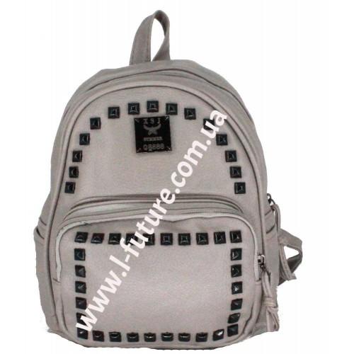 Женский рюкзак Арт. 328  Цвет Серый