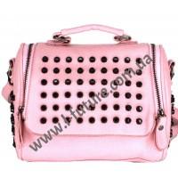 Женская сумка-рюкзак Арт. 104  Цвет Розовый