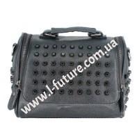 Женская сумка-рюкзак Арт. 104  Цвет Чёрный