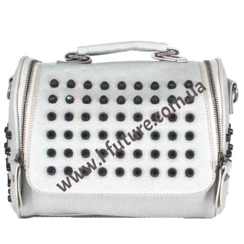 Женская сумка-рюкзак Арт. 104  Цвет Серый