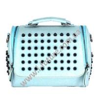 Женская сумка-рюкзак Арт. 104  Цвет Голубой