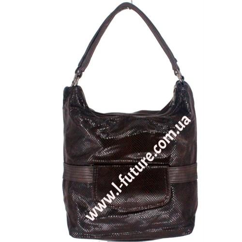 Женская сумка Арт. 6801 Цвет Коричневый