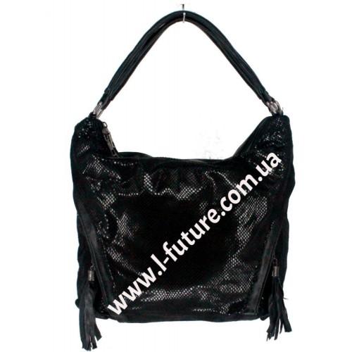 Женская сумка Арт. 8676-1 Цвет Чёрный