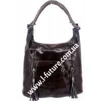 Женская сумка Арт. 6802  Цвет Коричневый