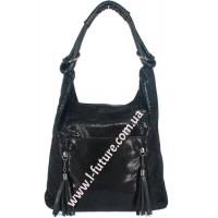 Женская сумка Арт. 6802  Цвет Чёрный