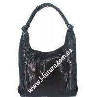 Женская сумка Арт. 8673-1  Цвет Чёрный