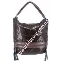 Женская сумка Арт. 8676 Цвет Коричневый
