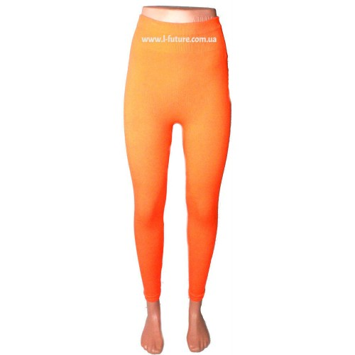 Лосины Женские Арт. F-05 Цвет Оранжевый