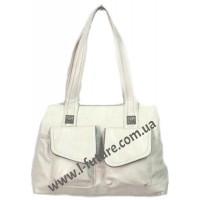 Женская Сумка Арт. 9580  Цвет Серый