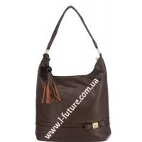 Женская сумка Арт. 77326  Цвет Коричневый