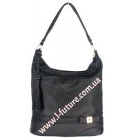 Женская сумка Арт. 77326  Цвет Чёрный
