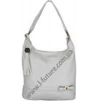 Женская сумка Арт. 77326  Цвет Серый