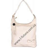Женская сумка Арт. 77326  Цвет Светлый Беж