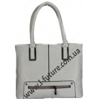 Женская Сумка Арт. 022  Цвет Серый