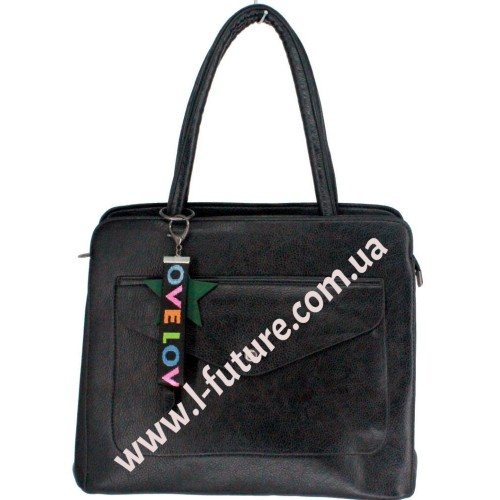 Женская Сумка Арт. 55335  Цвет Чёрный