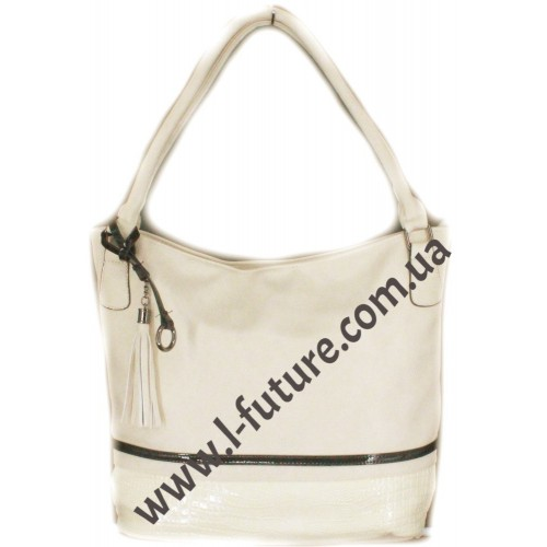 Женская сумка Арт. F-925 Цвет Светлый Беж