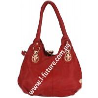 Женская сумка Арт. 340  Цвет Бордо