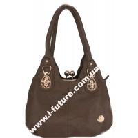 Женская сумка Арт. 340  Цвет Коричневый