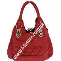 Женская сумка Арт. 341  Цвет Бордо