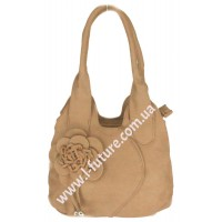 Женская сумка Арт. 318  Цвет Тёмный Беж