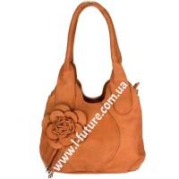 Женская сумка Арт. 318  Цвет Рыжий