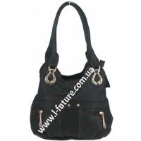 Женская сумка Арт. 315  Цвет Чёрный
