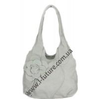 Женская сумка Арт. 318  Цвет Серый