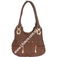 Женская сумка Арт. 315  Цвет Коричневый