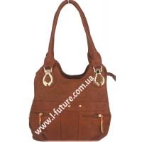 Женская сумка Арт. 315  Цвет Рыжий