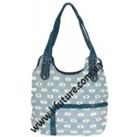 Женская сумка Арт. 19696 Цвет Синий
