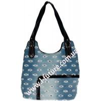 Женская сумка Арт. 19696 Цвет Чёрный