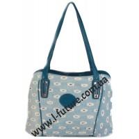 Женская сумка Арт. 19697 Цвет Синий