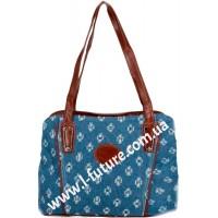 Женская сумка Арт. 19697 Цвет Коричневый
