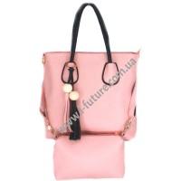 Женская сумка Арт. 097 Цвет Пудра